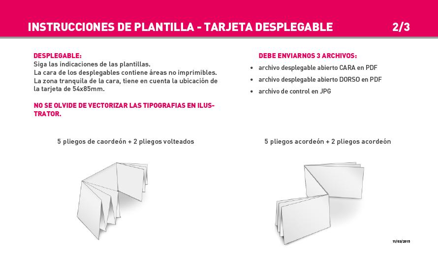 Impresión Tarjetas Desplegables - 24-72h Entrega | Exaprint